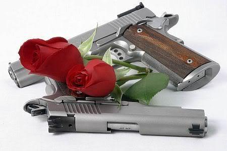 pištolj i ruže